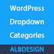 Wordpress categories dropdown