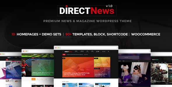 DirectNews – News & Magazine WordPress Theme