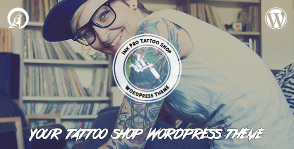 Ink Pro – Professional Tattoo Shop WordPress Theme