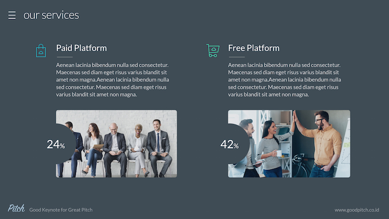 Pitch Vol.2 - Modern Powerpoint Template