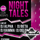 Night Tales - Party Flyer - GraphicRiver Item for Sale