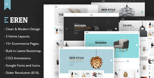 Eren – Multipurpose Ecommerce Template