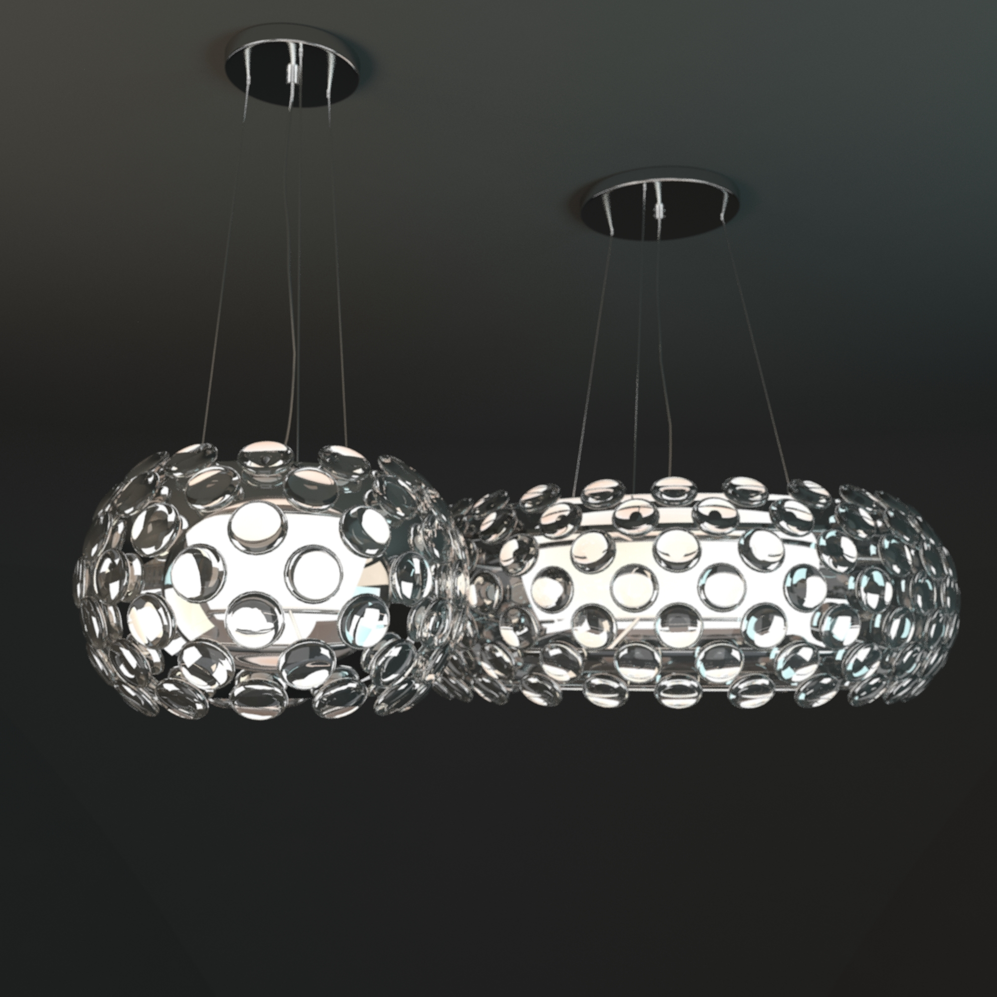 Crystal ball chandelier by maishang by obshansky 3docean crystal ball chandelier by maishang aloadofball Gallery