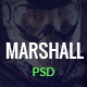 Marshall - Paintball Club PSD Template - ThemeForest Item for Sale