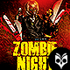 Zombie Night Flyer Template PSD - GraphicRiver Item for Sale