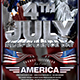 July 4 Independence Day Flyer Template V1 - GraphicRiver Item for Sale