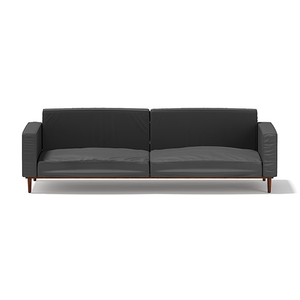 Dark Grey Sofa - 3DOcean Item for Sale