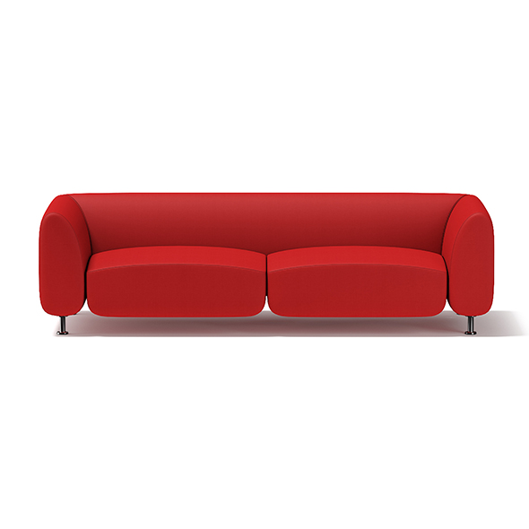 Red Sofa - 3DOcean Item for Sale