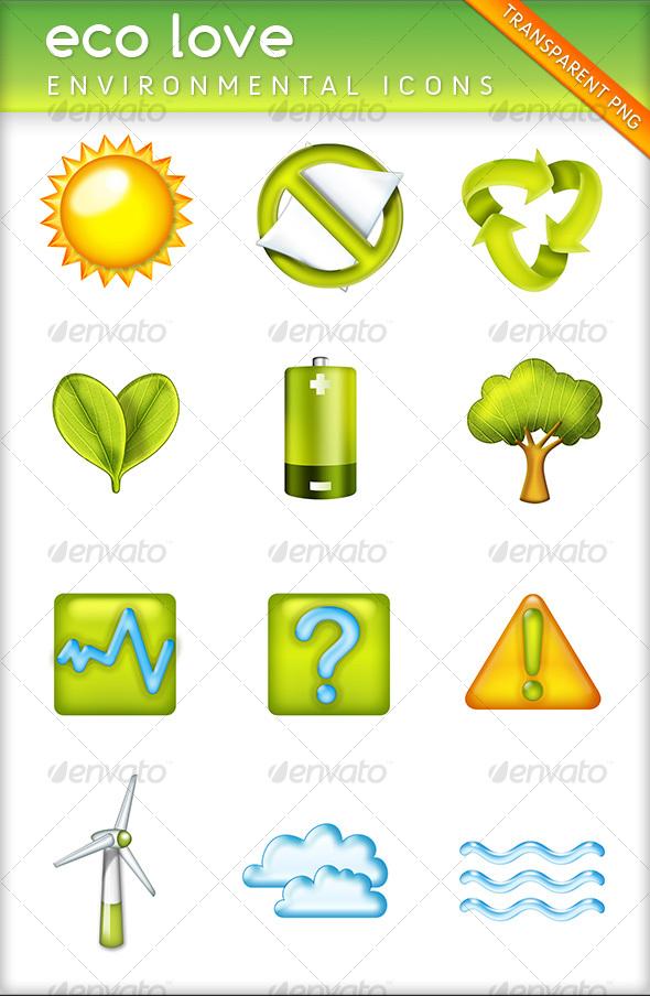 eco love - Web Icons