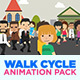 Walk Cycle Animation Pack: - VideoHive Item for Sale