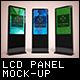 LCD Digital Signage Mockup - GraphicRiver Item for Sale