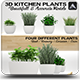 Kitchen Plants 3D - 3DOcean Item for Sale