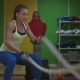 Girl Boxer Makes Exercise - VideoHive Item for Sale