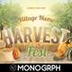 Harvest Festival Flyer - GraphicRiver Item for Sale