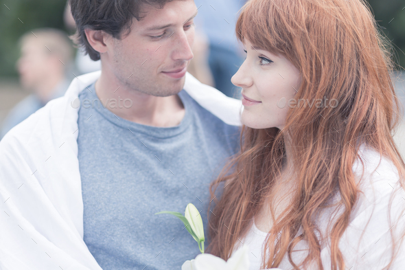 In love with the one sharing the same values - Stock Photo - Images