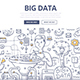Big Data Doodle Concept - GraphicRiver Item for Sale