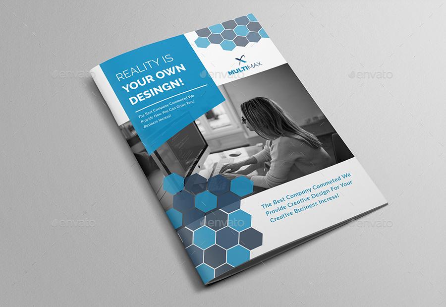 Corporate Brochure Company Profile By AlMamun GraphicRiver - Corporate brochure template