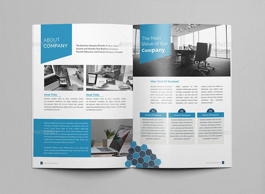 corporate brochure company profile by al mamun graphicriver