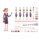 Businesswoman Character Creation Set - GraphicRiver Item for Sale