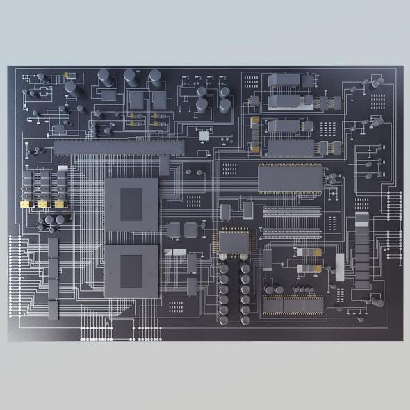 Motherboard - 3DOcean Item for Sale