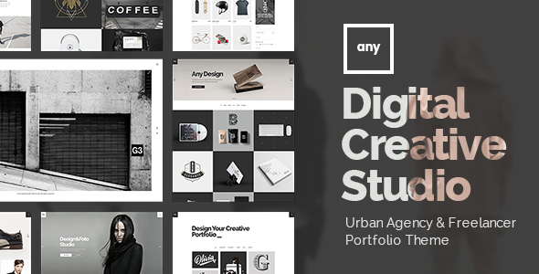 Any - Urban Agency & Freelancer Portfolio Theme - Portfolio Creative