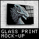 Glass Poster / Canvas Mock-Up - GraphicRiver Item for Sale