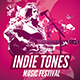 Indie Tones Flyer Template - GraphicRiver Item for Sale