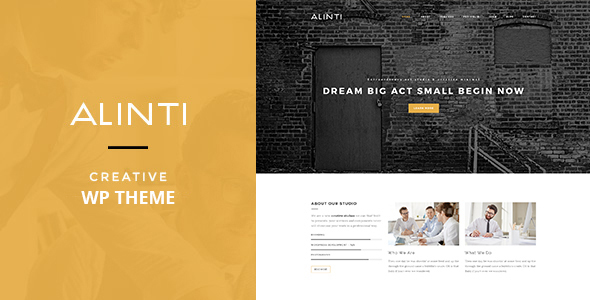 00-Alinti-Preview.__large_preview Alinti - Minimal HTML Portfolio theme WordPress