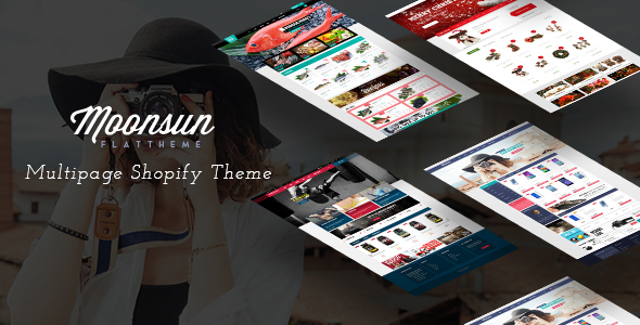 Ap Moonsun Shopify Theme - Health & Beauty Shopify