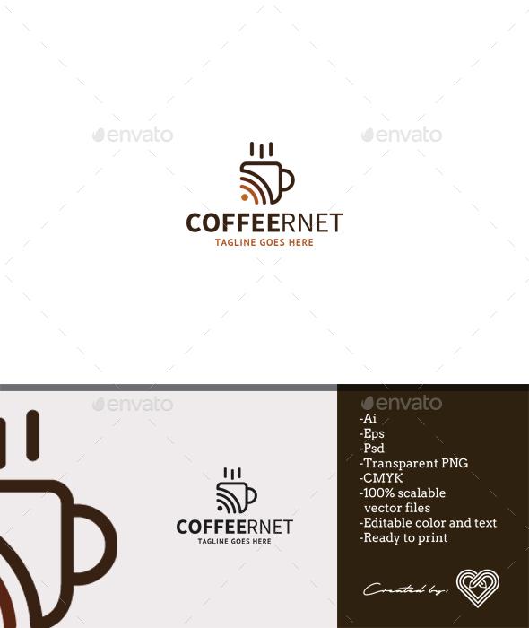 Coffeernet - Food Logo Templates