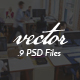 Vector Minimal PSD Template - ThemeForest Item for Sale