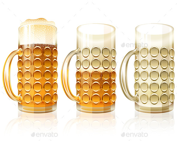 Almost Empty Beer Mug