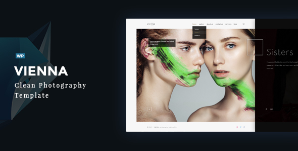 Vienna  – Premium Photography WordPress Theme
