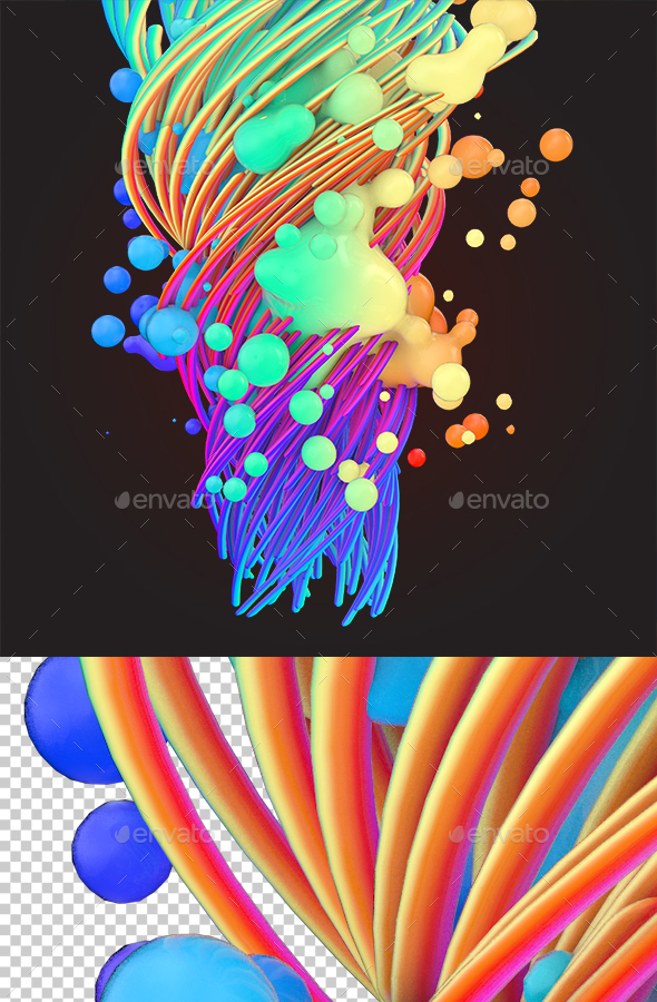 Abstract Render 2 - Abstract 3D Renders