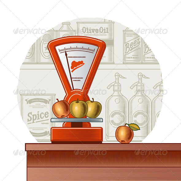 Retro Scales - Retail Commercial / Shopping