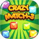 Crazy Match3 - HTML5 Game + Android + AdMob (Capx) - CodeCanyon Item for Sale