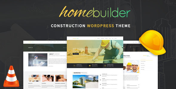 HomeBuilder – Building & Construction WordPress Theme