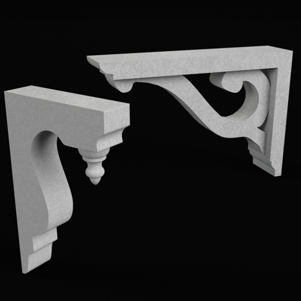 Architectural Elements Set - 3DOcean Item for Sale