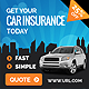 Car Insurance Banners - GraphicRiver Item for Sale