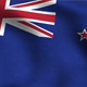 New Zealand Flag Background - VideoHive Item for Sale
