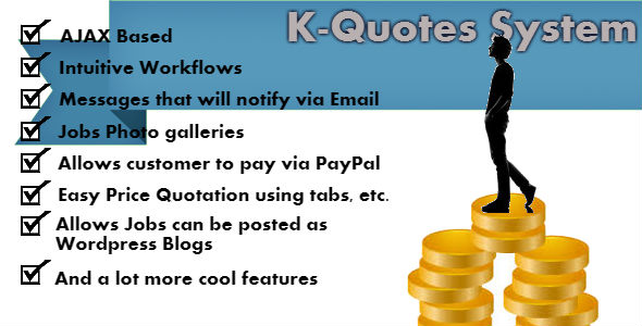 K-Quotes: Price Quotation System By Softreliance | Codecanyon