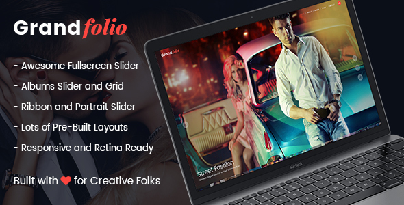 Photo WordPress Theme - Grand Folio
