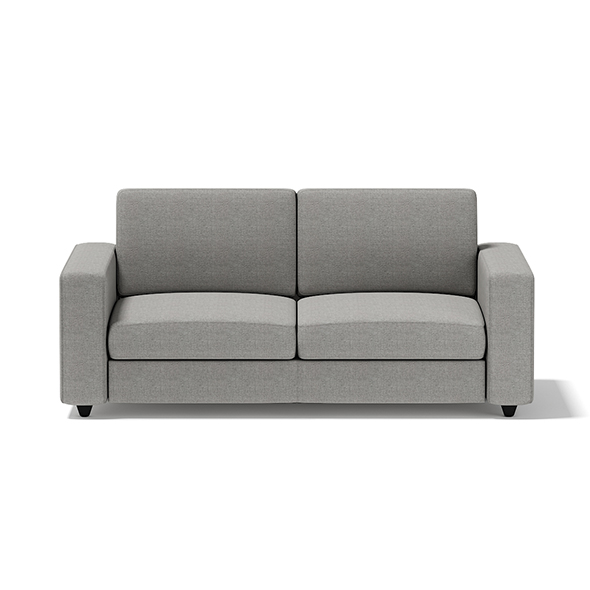 Grey Two Seat Sofa - 3DOcean Item for Sale