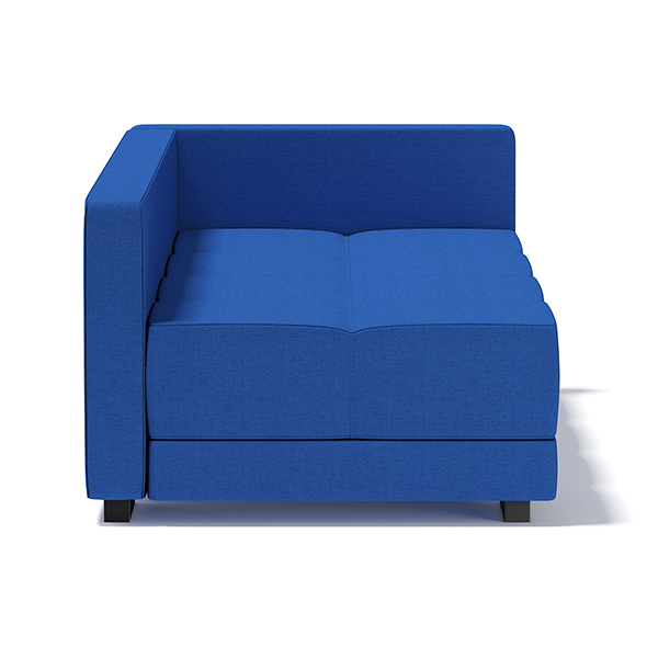 Blue Corner Sofa - 3DOcean Item for Sale