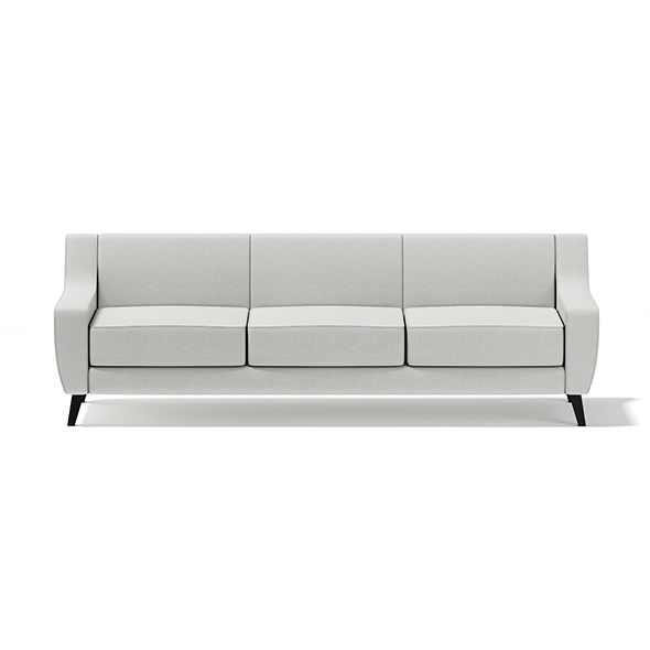 Light-Grey Three Seat Sofa - 3DOcean Item for Sale