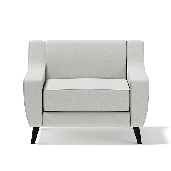 Light-Grey Armchair - 3DOcean Item for Sale