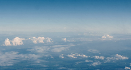 Clouds, sky and airplanes