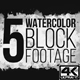 Watercolor Block 4K - VideoHive Item for Sale