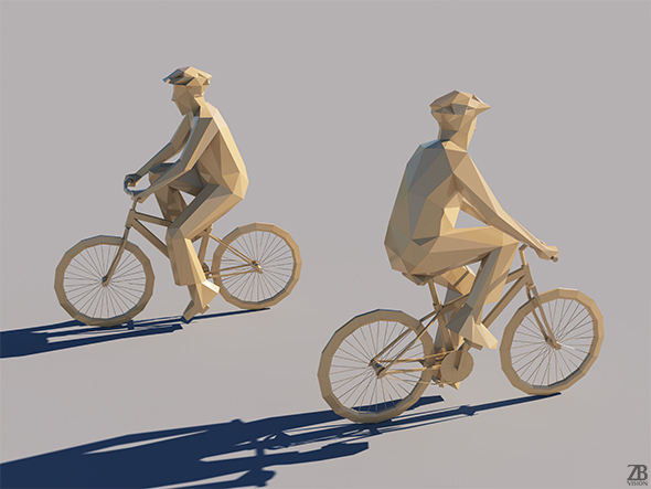 Lowpoly Man 001 - 3DOcean Item for Sale