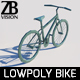 Lowpoly Bicycle 001 - 3DOcean Item for Sale